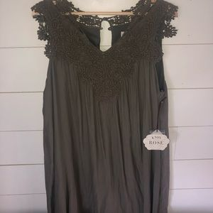 NWT Olive Lace Dress - sz xxl
